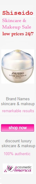 Shiseido Sale at CosmeticAmerica.com, low prices 24/7